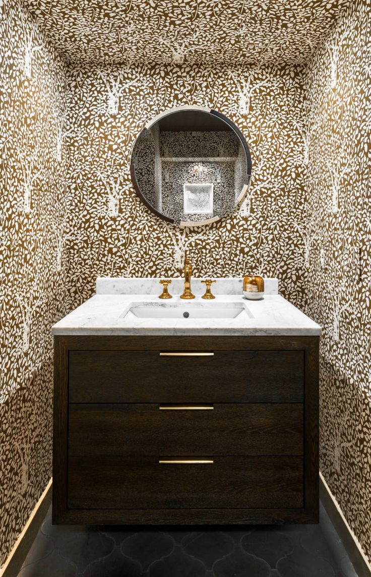 163 best Powder Rooms images on Pinterest