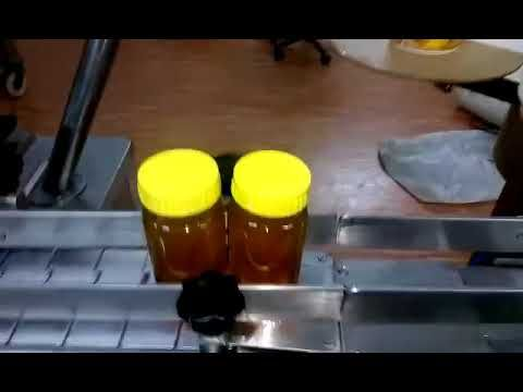 Honey Bottle Filling Capping And Labeling Machine