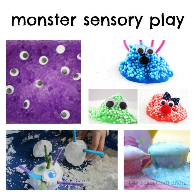 Monster Sensory Play
