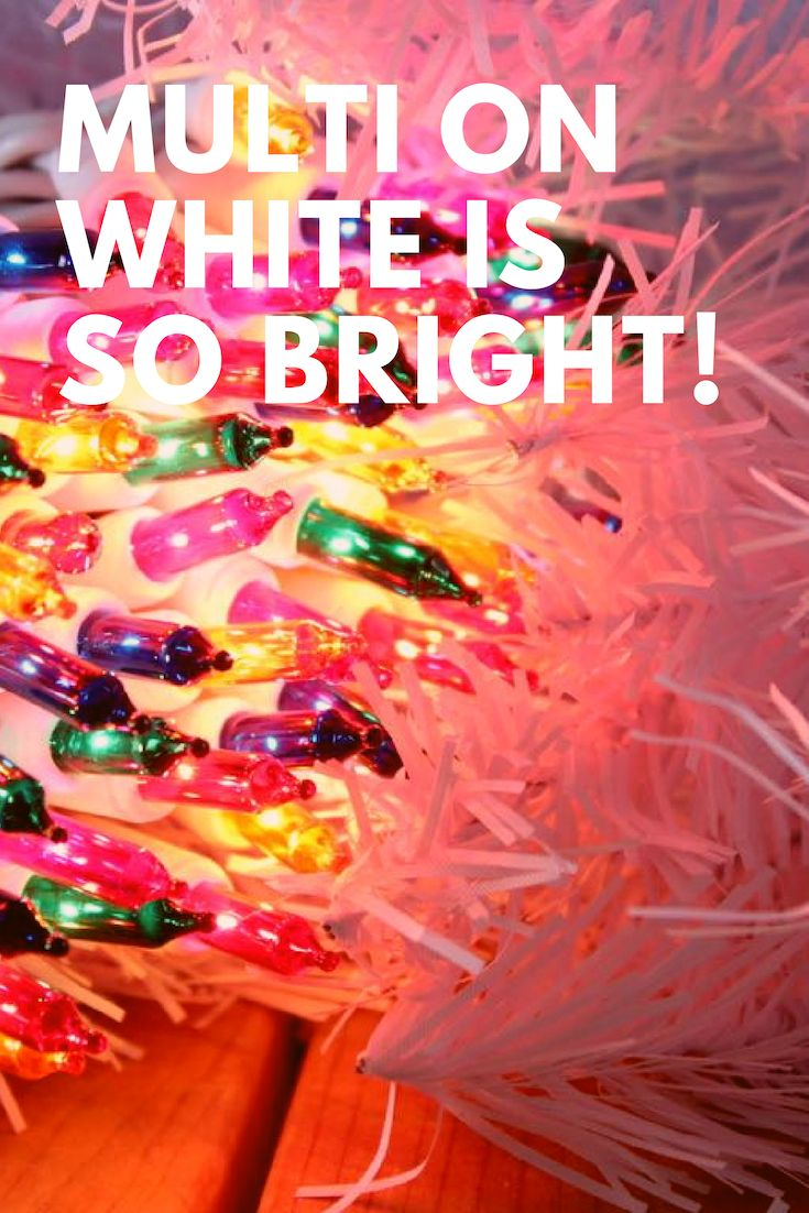 12+ White wire multi color christmas lights ideas