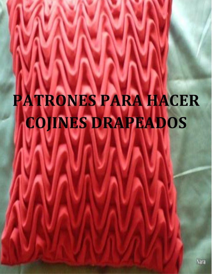 PATRONES PARA HACER COJINES DRAPEADOS