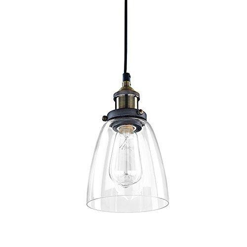 Ecopower Industrial Edison Glass Mini Pendant Hanging