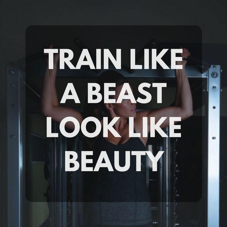 Train like a beast look like beauty. http://newestweightloss.com #weightloss #diet #weightlossmotivation #fitspo