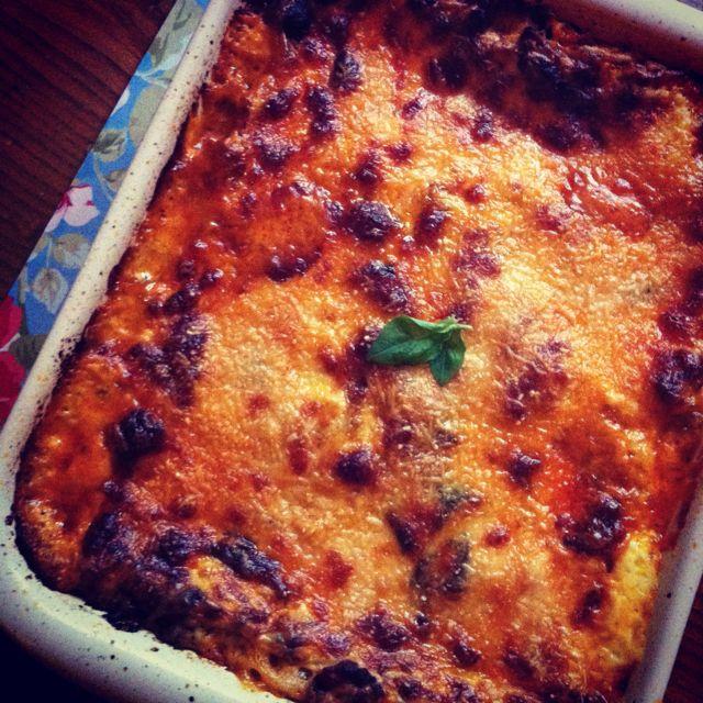 Delicious home made lasagne - Lorraine Pascale recipe