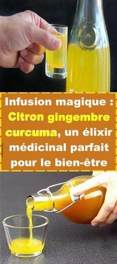 Infusion Magique: Curcuma Citron Gingembre, un élixir médicinal parfait pour le bien-être