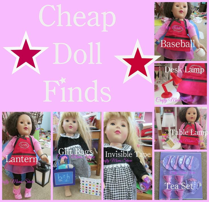 Crafty Moms Share: Cheap Doll Finds