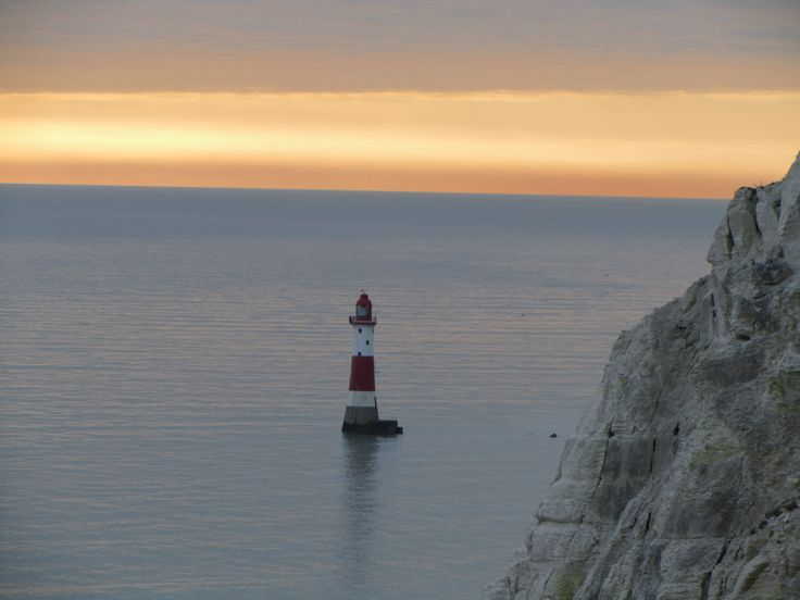 Beachy Head sunset (United Kingdom)