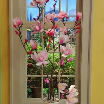 Crepe-paper magnolias: Flowers Paper4, Flowers Marthastewart, Paper Flowers, Magnolias Flowers