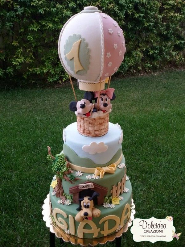mickey mouse minnie cake