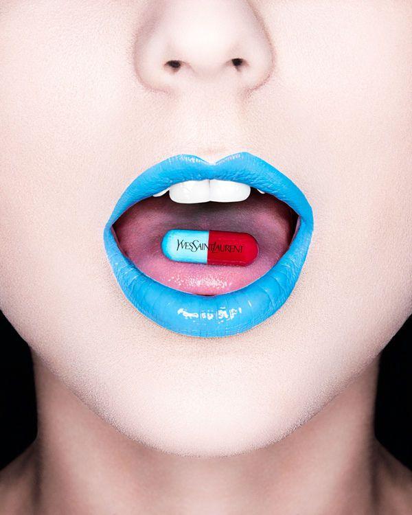 The Steve Kraitt Designer Drugs Beauty Story is Brand-Obsessed #makeup #avantgarde trendhunter.com
