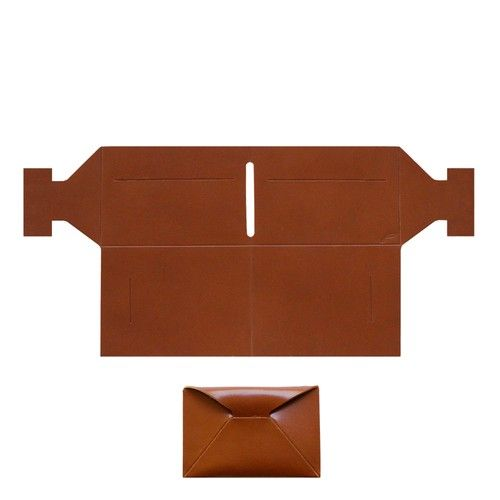 Yön - leather wallet ORIGAMI (portefeuille) + money