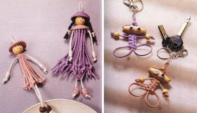 munecas-macrame...needs translation.. Steps have pictures to follow.