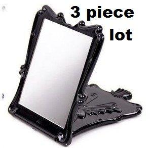 3 piece lot Anna sui 13.5x11cm compact mirror rose pattern DIY | chriszcoolstuff - Craft Supplies on ArtFire