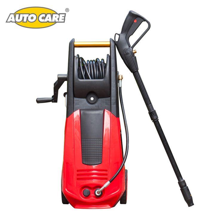 AutoCare High Pressure Car Washer Spray Cleaner Machnine 1800 w 90 bar High Pressure Hose Gun auto wash save water motor power