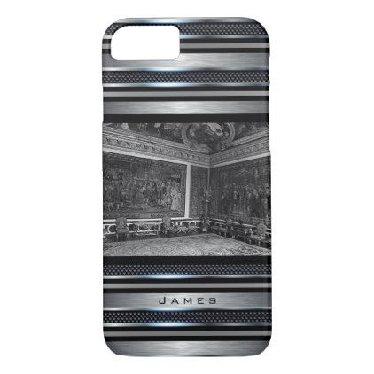 #Vintage France Versailles palace Apollo chambre iPhone 7 Case - #travel #trip #journey #tour #voyage #vacationtrip #vaction #traveling #travelling #gifts #giftideas #idea