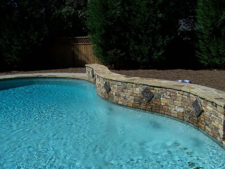 Wonderful Pool Finish Ideas For You To Copy: 26 Best Images About Pools On Pinterest