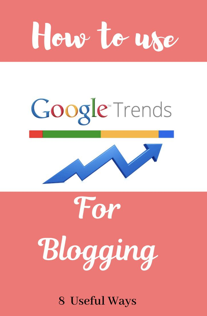 How To Use Google Trends For Blogging Google Trends Online Business Marketing Blogging Advice