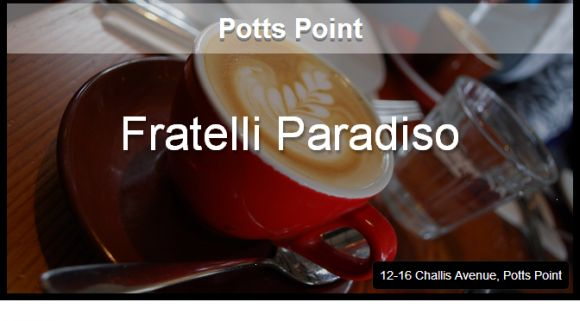 Potts Point - We love this Italian cafe in trendy Potts Point.  With its blackboard menu (written in Italian), Italian wait staff and tasty food, it's the perfect setting any time of day. http://www.pinterest.com/WhoLoves/Top-Ten-Lists #Sydney #Cafe #Top10 #TopTen