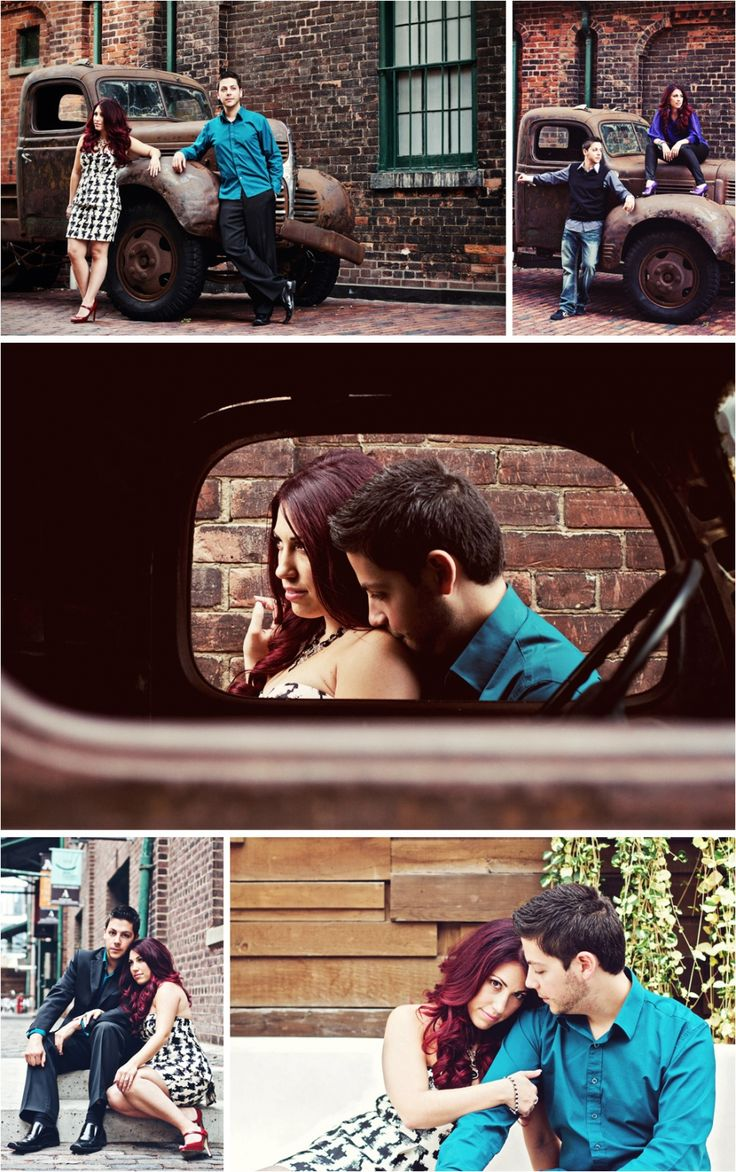 The best photo shoot location in Toronto!!!!!!!! Toronto Photo Shoot Location - The Distillery District in Toronto is an incredible place for an engagement shoot!
