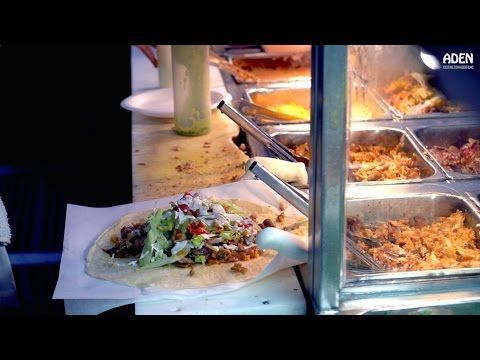 Some American Street Foods filmed at Grand Central Market in Downtown LA