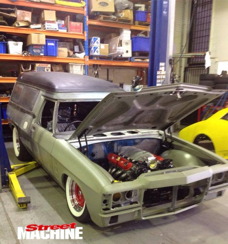 ◆ Visit MACHINE Shop Café... ◆ ~ Aussie Custom Cars & Bikes ~ (1975 HZ Holden Panel Van Build)