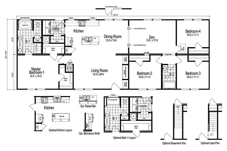 Nationwide Modular Homes Floor Plans: 162 Best Images About HOUSE PLANS On Pinterest