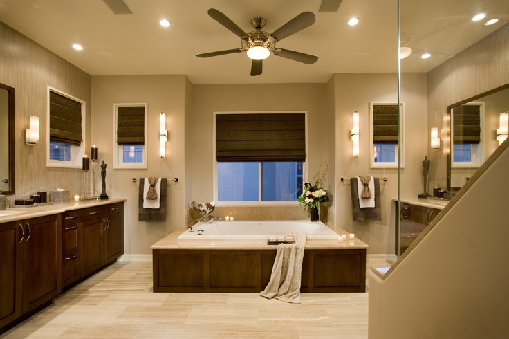 Contemporary Spa Bathroom by Featured Designer Megan Crane.
