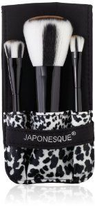 Japonesque Safari Chic Brush Set by Japonesque. Save 29 Off!. $21.14. Unique animal print. Set includes powder brush, shadow brush and crease brush. The exclusive set is handmade using synthetic hair. Explore your wild side with Safari Chic. The perfect, take-everywhere 3 piece set featuring unique animal print brushes. A signature microfiber case holds the distinctive, ultra-plush brushes espertly designed for flawless makeup application.
