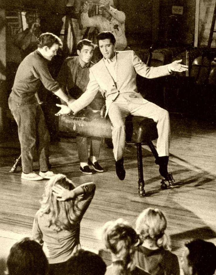 """July 1963 - Elvis films the movie, """"Viva Las Vegas."""" The movie"""
