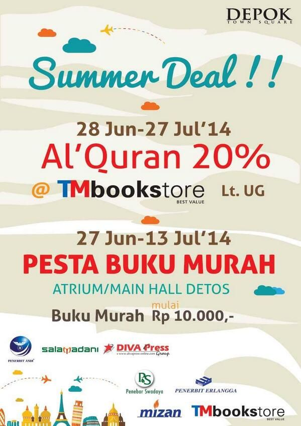Depok Town Square: Promo Summer Deal
