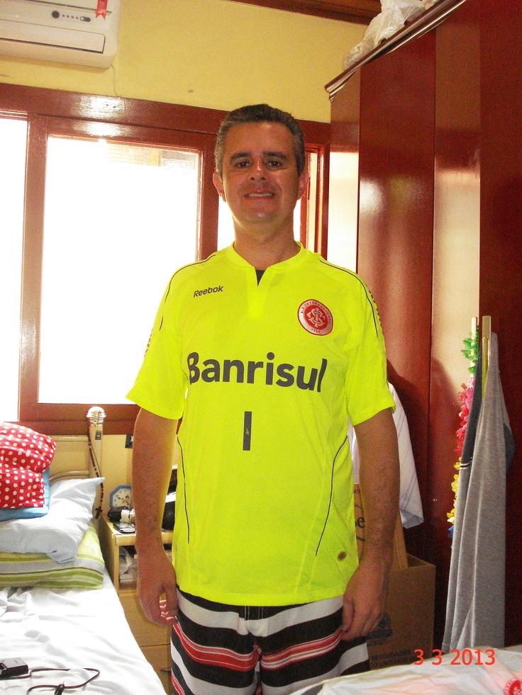 camisa de goleiro Reebok 2010 IV verde-limão!