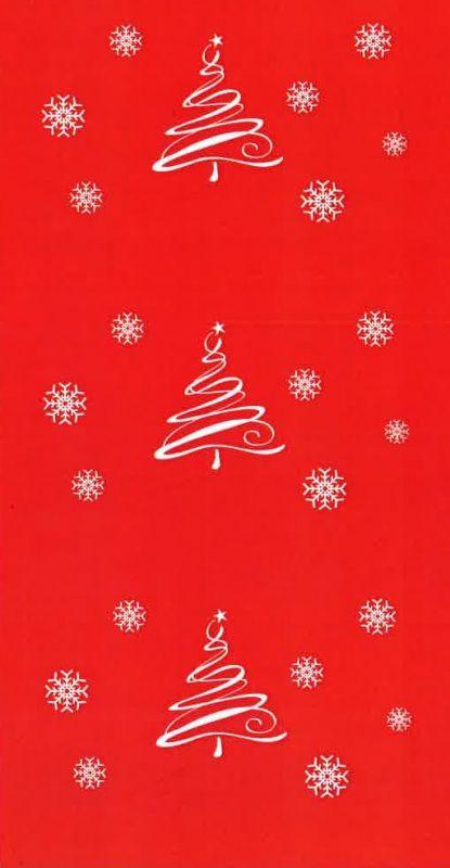 Teppichbodenbelag mit Weihnachtsmotiven als Läufer