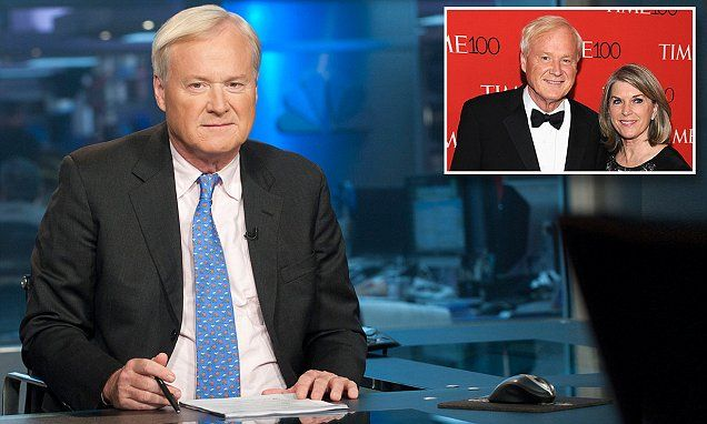 MSNBC Hardball host Chris Matthews embroiled in scandal as it emerges guests on his show funded his wife's political campaign #DailyMail