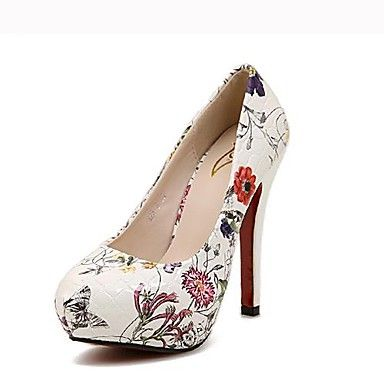 Women's Shoes Round Toe Stiletto Heel Pumps Shoes More Colors available – USD $ 29.99