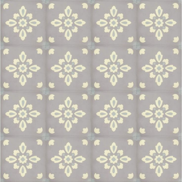 Moroccan Encaustic Cement Pattern Tile Pre Sealed gr08