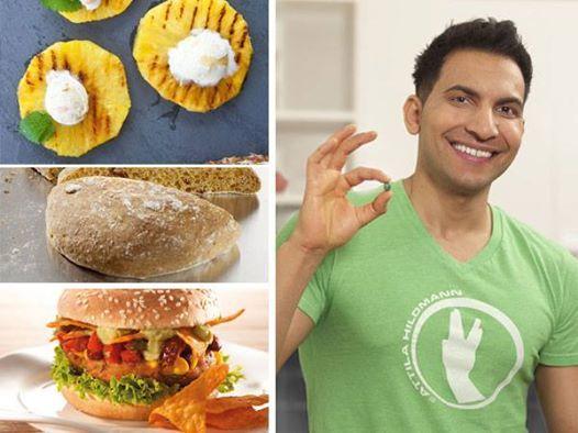 Attilaaaa! Der Star der veganen Küche hat endlich neue Rezepte kreiert - und zwar zum Grillen!  Wir verraten euch ganz exklusiv 3 davon! HIER: http://www.shape.de/diaet-und-ernaehrung/rezepte/a-59523/vegan-grillen-mit-attila-hildmann.html