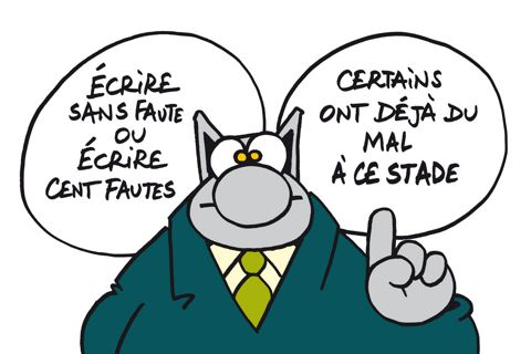 le chat-orthographe