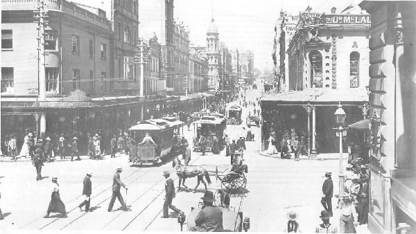 King Street cable trams.