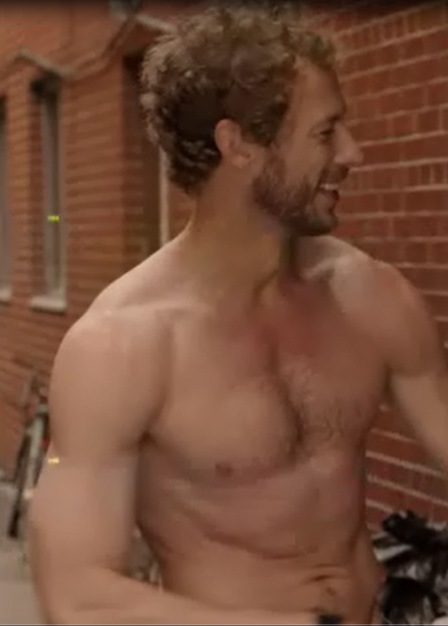 Lost Girl's Dyson played by Kris Holden Ried - I would not kick this one out of bed for bread crumbs!