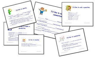 Comprehension Discussion Starter Poster