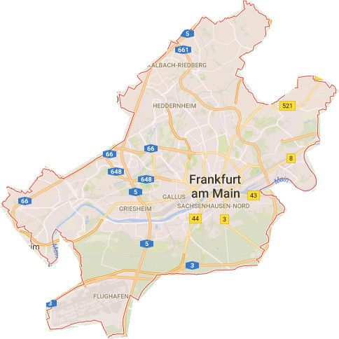 Stadtplan Frankfurt Stadtteile 2 Seite Stadtplan Planer Stadt