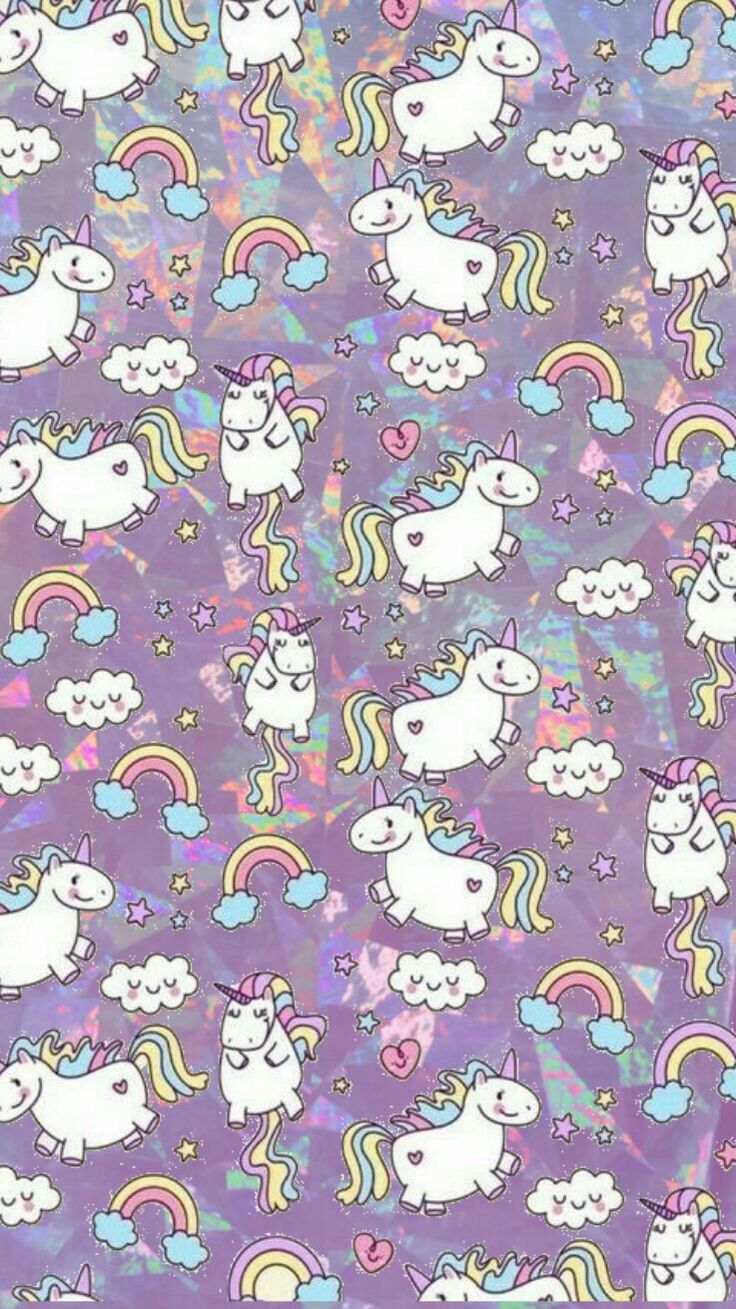 Fat unicorn wallpaper
