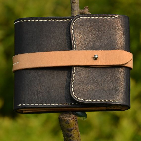 100% Hand-stitched Vegetable Tanned Leather Wallet Case