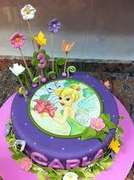 Image result for pastel de tinkerbell y sus amigas