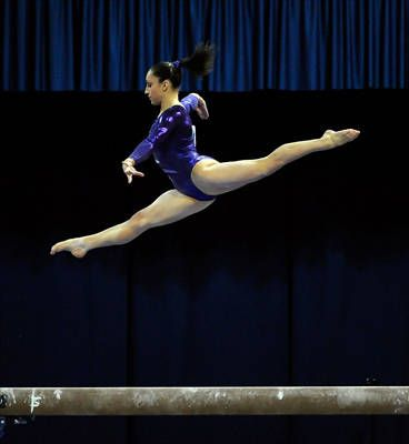 Soaring effort. Watch for Jordan Wieber in London