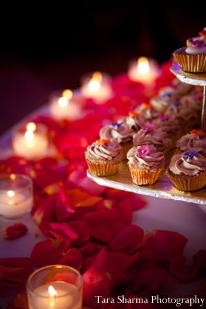 Indian Wedding Reception Dessert Table In Jersey City New By Tara Sharma Photography