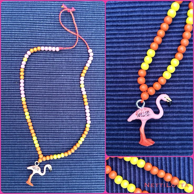 Scleichtierkette Flamingo