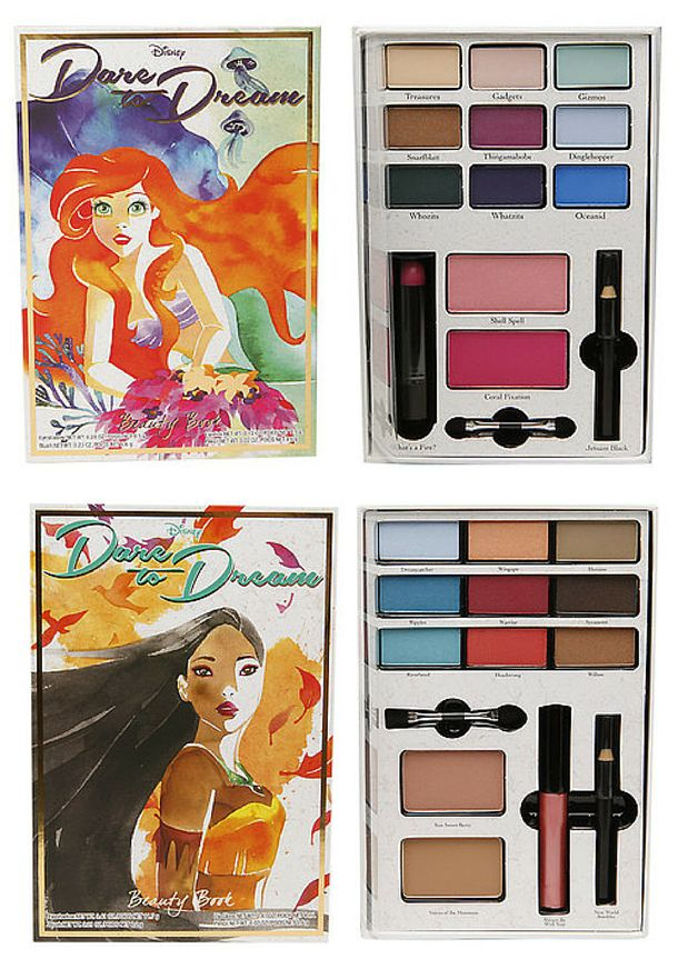 Walgreens Introduces Dare to Dream Disney Makeup Collection
