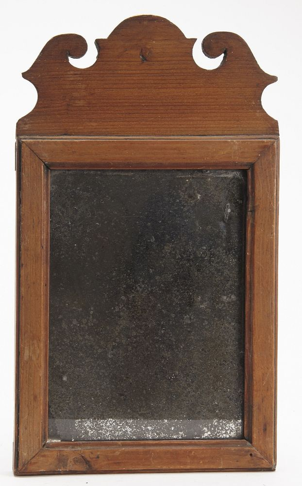 American Antique Queen Anne Mirror In 2020 Queen Anne Antiques