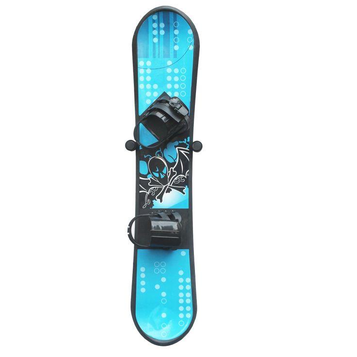 Clinch Disegno Sci e Snowboard Visualizzazione di Stoccaggio parete Rack di Stoccaggio A Muro montaggio a parete Rack confezione da 2 SENZA PENSIONE